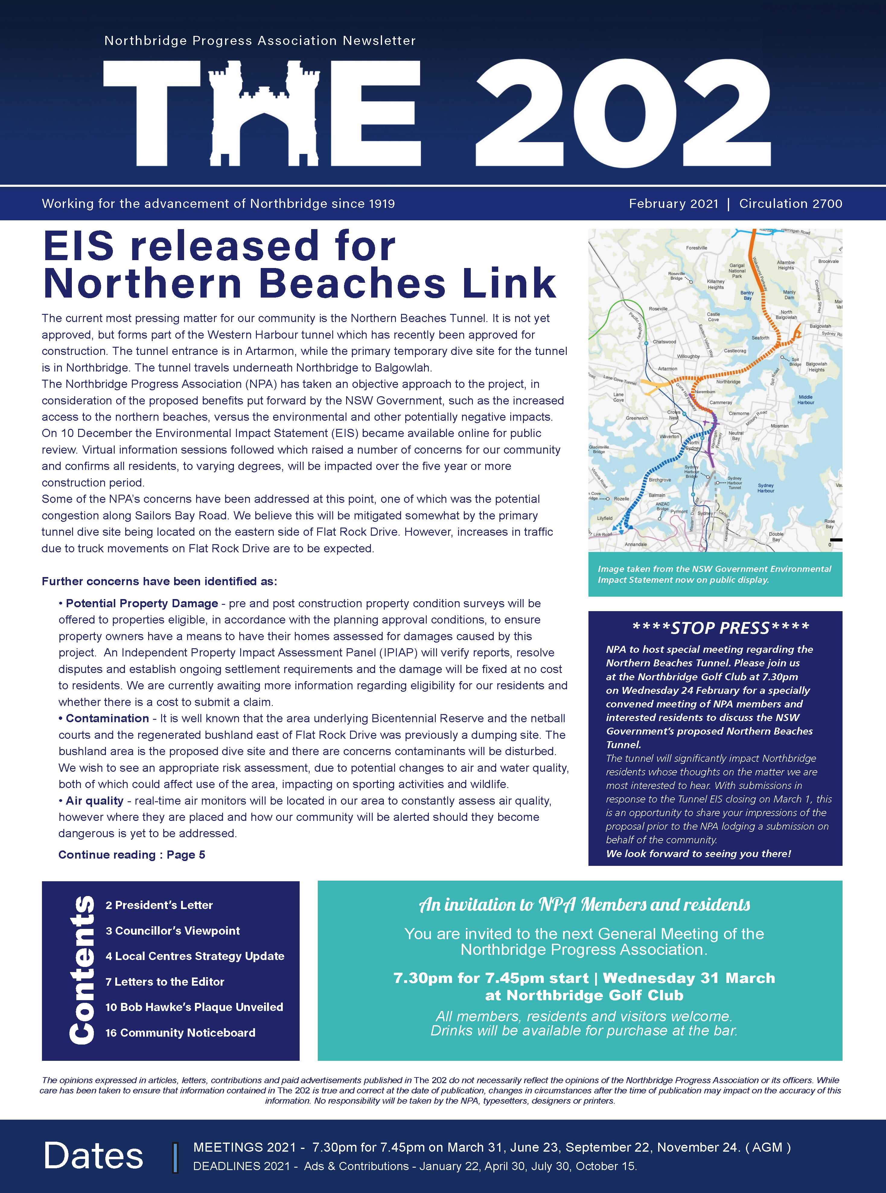 click to download February 2021 issue of The 202